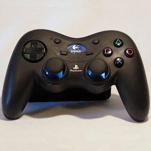 Vintage PlayStation Logitech Controller
