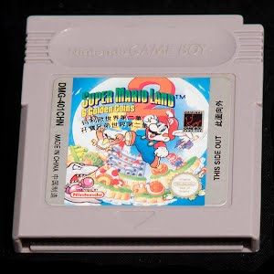 Vintage Nintendo Game Boy Super Mario Land Game Cartridge