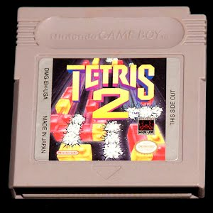 Vintage Nintendo Game Boy Tetris Game Cartridge