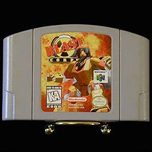 Vintage Original N64 Nintendo Blast Corps Game Cartridge