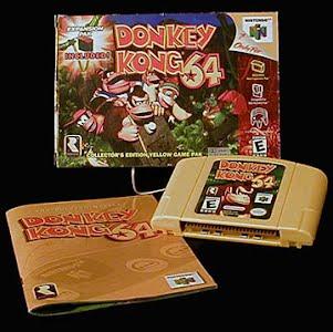 Vintage Original N64 Nintendo Donkey Kong 64 Game Cartridge
