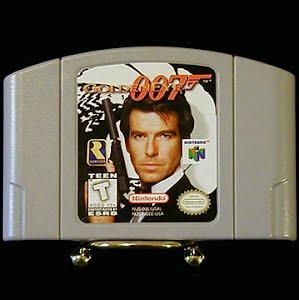 Vintage Original N64 Nintendo 64 Golden Eye 007 Game Cartridge