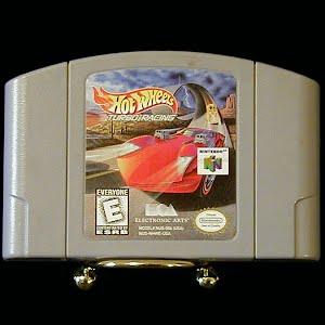 Vintage Original N64 Nintendo 64 Hot Wheels Turbo Racing Game Cartridge
