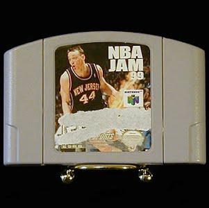 Vintage Original N64 Nintendo 64 NBA Jam 99 Game Cartridge