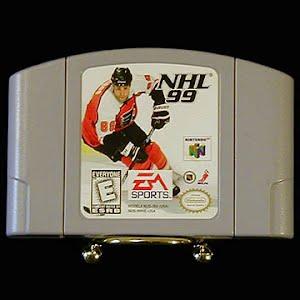 Vintage Nintendo 64 N64 NFL 99 Game Cartridge