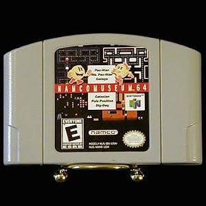 Vintage Nintendo 64 N64 Namco Museum 64 Pac Man Game Cartridge