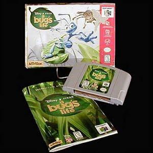 Vintage Original N64 Nintendo A Bug's Life Game Cartridge