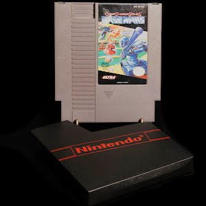 Vintage NES Nintendo Game, Base Wars
