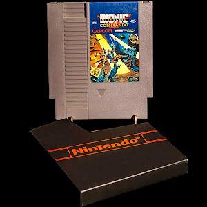 Vintage NES Nintendo Game, Bionic Commando