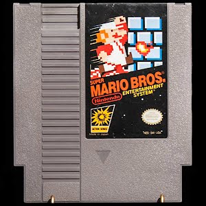 Vintage NES Nintendo Super Mario Brothers Game