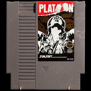 Vintage NES Nintendo Platoon Game