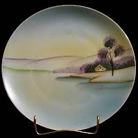 Antique Hand Painted Meito China Japan