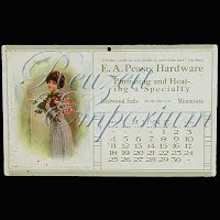 Antique Advertising Postcard, Pease Hardware 1910