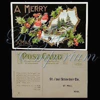 Postcard, Advertising, St.Paul Souvenir Co