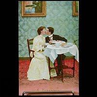 Antique Bamforth Postcard, A Teaspoon