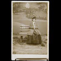 Antique 1907 Bamforth Postcard, To Let