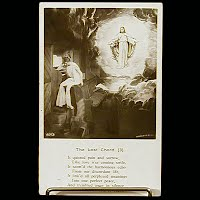 Antique Bamforth Postcard, Lost Chord