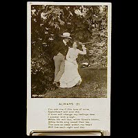 Antique Bamforth Postcard, Always