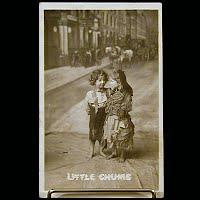 1907 Antique Bamforth Postcard, Little Chums