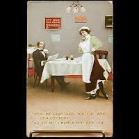 1912 Antique Bamforth Postcard, Now, My Dear