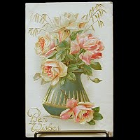 Antique Postcard, Best Wishes