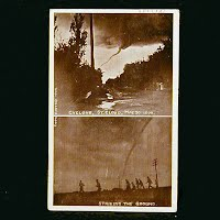 Antique Photo Postcard, Cyclone in St. Cloud 1909