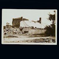 Antique Photo Postcard, Anoka Armory after Tornado 1939