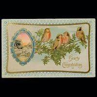 1911 Antique Postcard, Congratulation