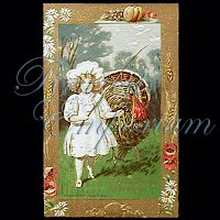 Antique thanksgiving Post Card