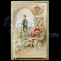 Antique Memorial Day Post Card