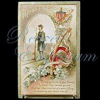 Antique Memorial Day Post Card