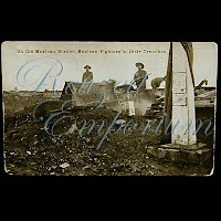 Real Photo Antique Postcard, H H Stratton Mexican Border