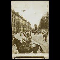 Real Photo Antique Postcard, WWI Metz 19 Nov 1918