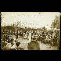 Real Photo Antique Postcard, Entree triomphale Metz, 19 Nov 1918