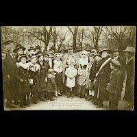 Real Photo Antique Postcard, World War I Metz Un General Francais Aimablement