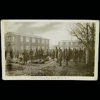 Real Photo Antique Postcard, World War I Colored Victory Boys Camp Merritt NJ