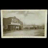 Real Photo Antique Postcard, World War I Headquarters,Camp Merritt, NJ Postcard