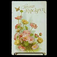 1911 Embossed Antique Postcard, Anna Appelgren