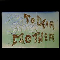 Embossed Antique Postcard, To Dear Mother