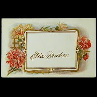 1910 Embossed Antique Postcard, Ella Broeker