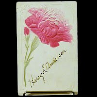 1910 Embossed Antique Postcard, Harry Anderson