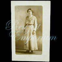 Antique Woman Postcard
