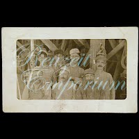 Antique Real Photo Men Workers Postcard