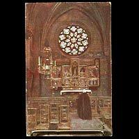 Antique Tuck Postcard, Oilette Chapel of St. Joseph Antwrep