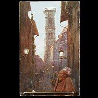 Antique Tuck Postcard, Oilette Florence