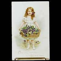 Antique Tuck Postcard, Birthday: May your Birthday be bright and Happy