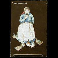 Antique Tuck Postcard, Quaint Hollander