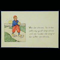 Antique Tuck Dutch, Proverbs Postcards