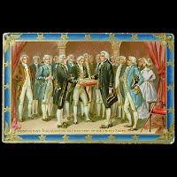 Antique Tuck Postcard, Washington's Inauguration