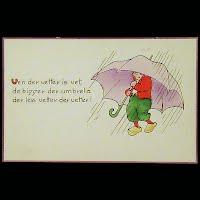 Antique Tuck Postcard, Dutch Proverbs
